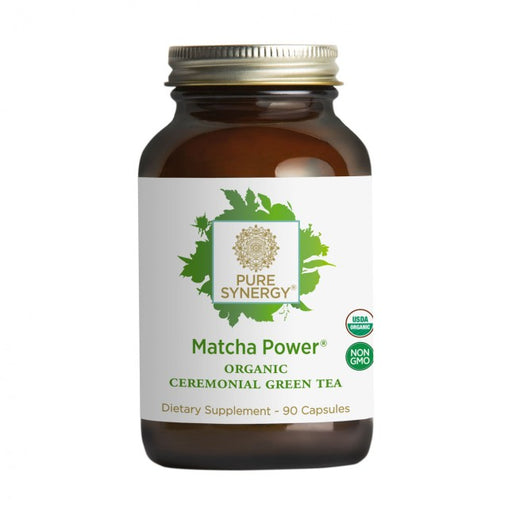 The Synergy Company Matcha Power 90 Capsules