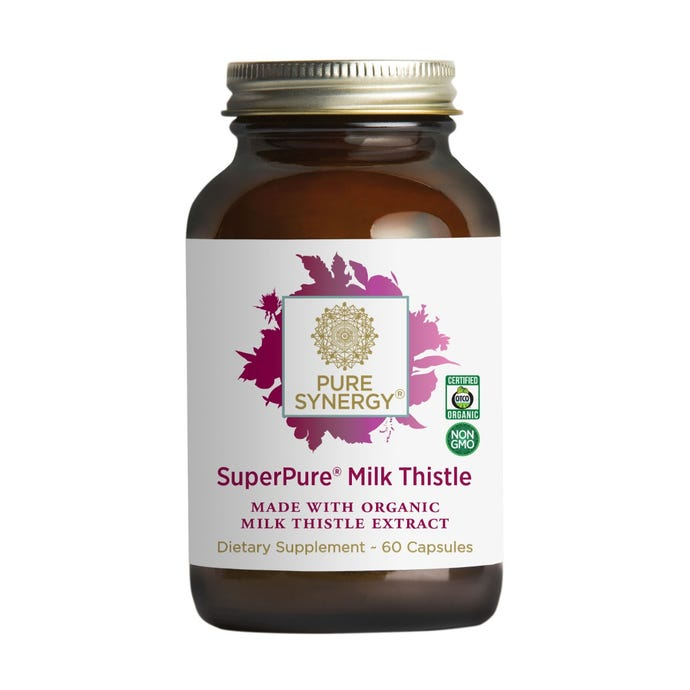 Synergy Company Superpure Milk Thistle Extract 60 capsules