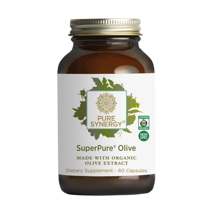 Synergy Company Superpure Olive Extract 60 capsules