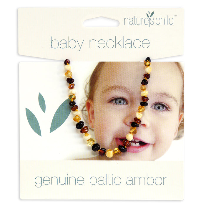 Amber Necklace for Babies from Nature's Child