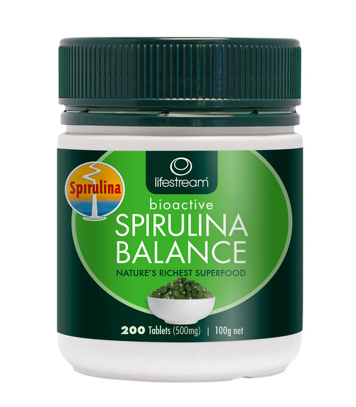Lifestream Spirulina Balance 200 Tablets