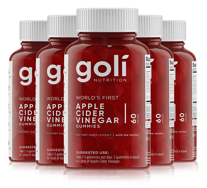 Goli Nutrition - World's First APPLE CIDER VINEGAR GUMMIES