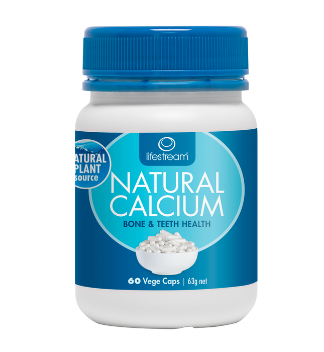 Lifestream Natural Calcium 60 Capsules