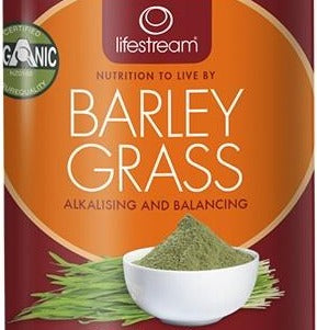 Lifestream Organic Barley Grass 100g Powder