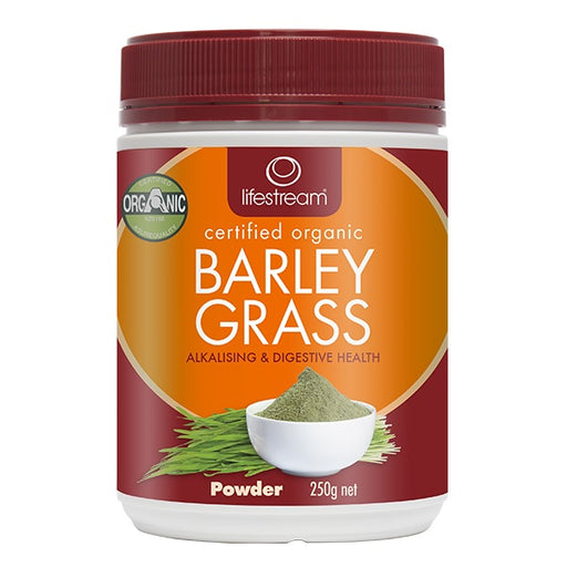Lifestream Organic Barley Grass 250g Powder