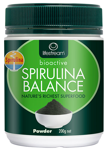 Lifestream Bioactive Spirulina Balance 200g Powder