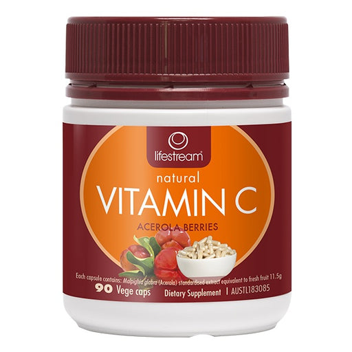 Lifestream Natural Vitamin C 90 Capsules