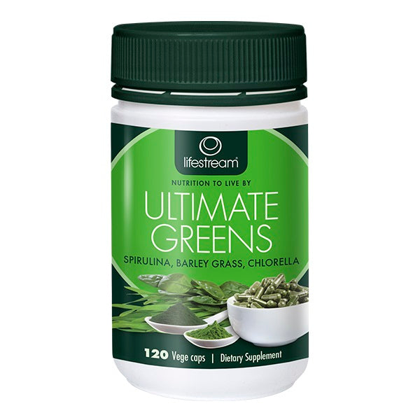 Lifestream Ultimate Greens 120 Capsules