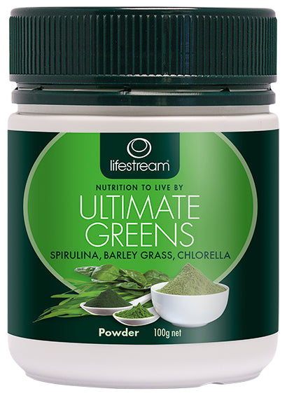 Lifestream Ultimate Greens 100g Powder
