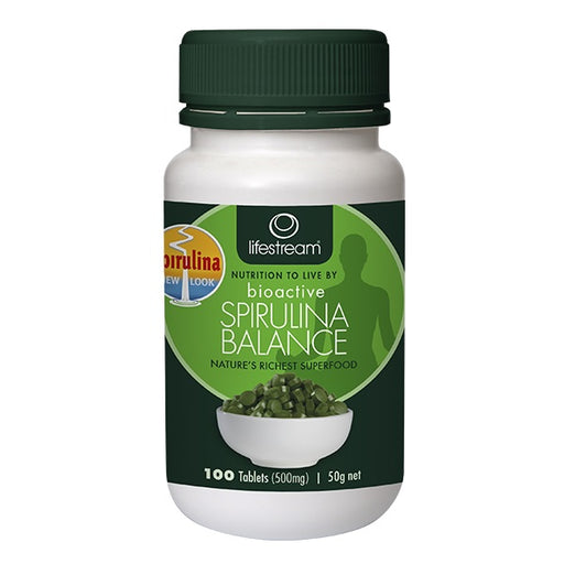 Lifestream Spirulina Balance 100 Tablets