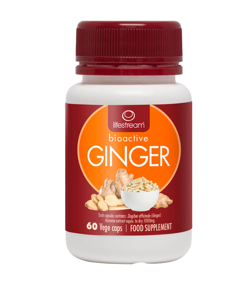 Lifestream Bioactive Ginger 60 capsules