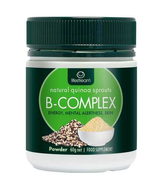 Lifestream Natural Vitamin B-Complex 60g Powder (BEST BEFORE EXPIRED MAY 2020)