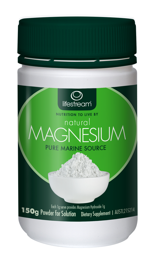 Lifestream Natural Magnesium 150g Powder