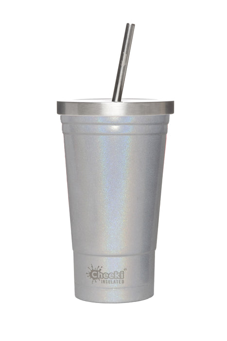 CHEEKI 500ml [17oz] Tumbler Insulated Stainless Steel, for Smoothies, Juices and Milkshakes.