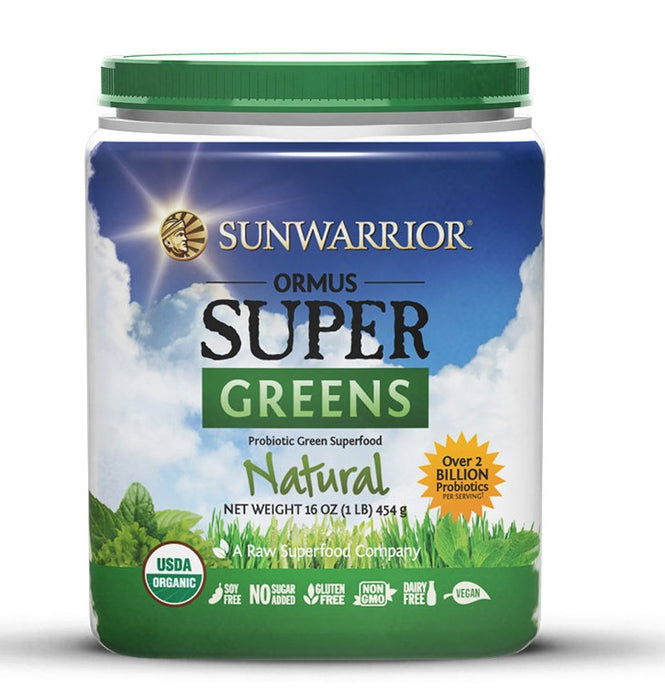 Sunwarrior Ormus Supergreens Natural 454g