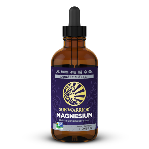 Sunwarrior Magnesium Liquid 118 ml (4 fl oz) bottle