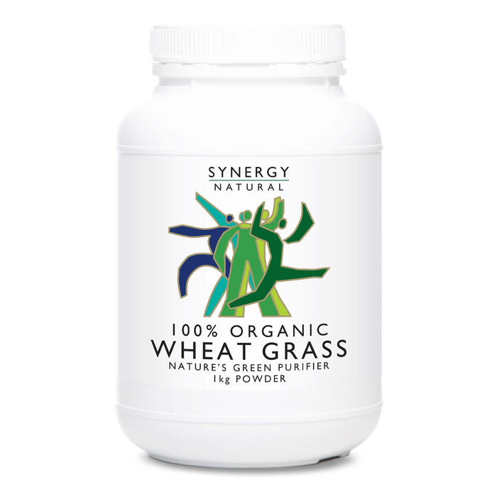 Synergy Natural Organic Wheat Grass 1kg Powder