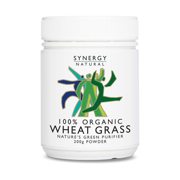 Synergy Natural Organic Wheat Grass 200g Powder