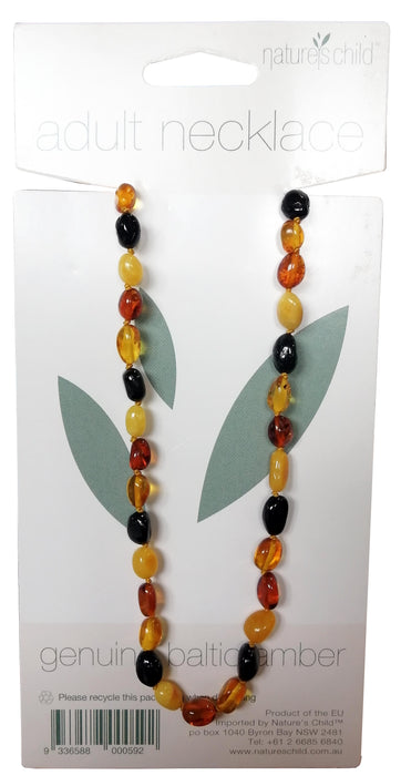 Adult Amber Necklace ~7yrs+ by Nature's Child