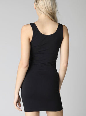 NikiBiki Dress Length Tank Top-Thick Strap