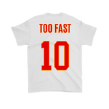 Peace, TOO FAST Jersey Tshirt