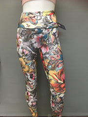 Clara Leggings - Graffiti Blooms