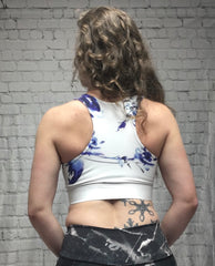 Ava Sports Bra - White Orchid