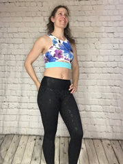 Ava Sports Bra - Painted Orchid