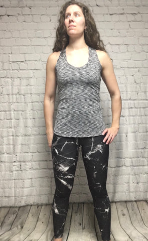 SpaceDye Wicking Racer Back Tank