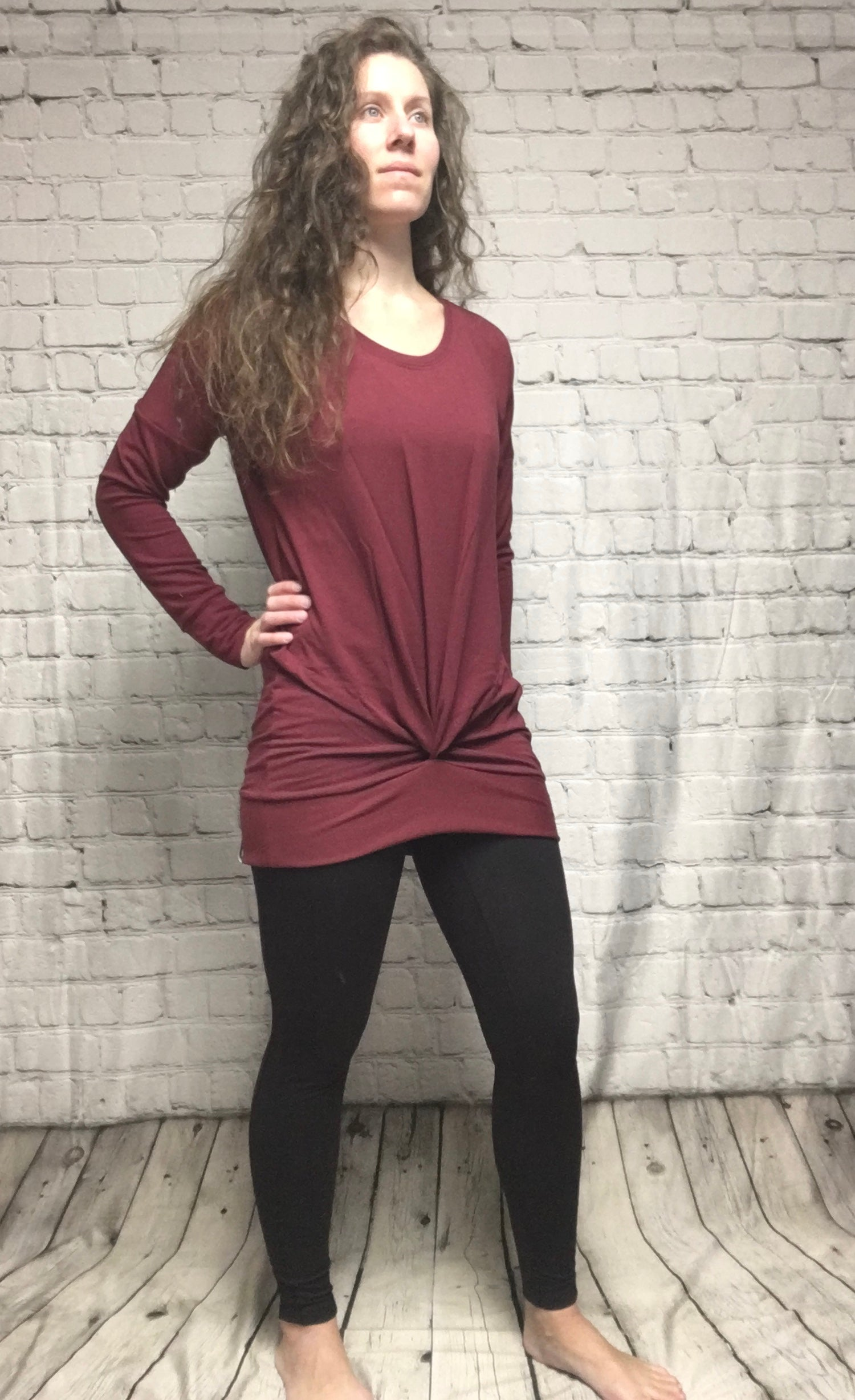 TwistItUp Bamboo Sweater