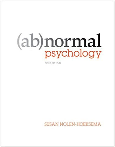 Products ebooks2college pdf etextbook abnormal psychology 5th edition by susan nolen hoeksema fandeluxe Images