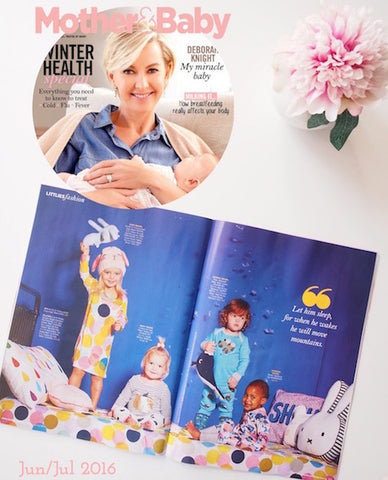Boo & Bear feature Mother & Baby magazine - Kids decor, girls room, boys room, nursery