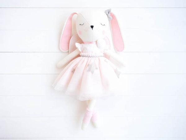 Lulu Bunny Doll - Princess Angel - Boo & Bear kids room decor
