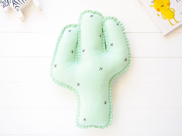 Cactus cushion - Boo & Bear kids room decor