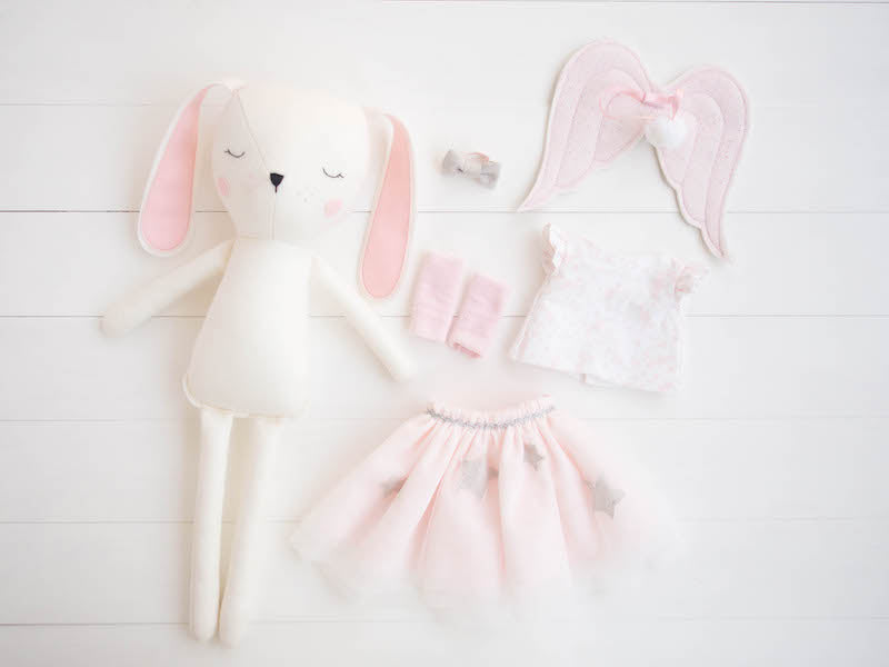 Accessories - Star tutu, top & angel wings