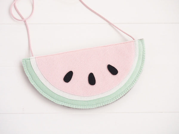 Watermelon purse - Boo & Bear kids room decor