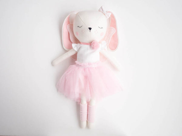 Lulu Bunny Doll - Ballerina with tutu - Boo & Bear kids room decor