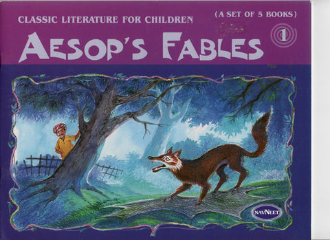 Aesop's Fables Set of Five Books