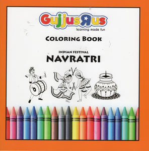 Navratri- Indian Festival Colouring Books