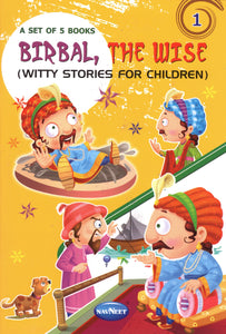 Birbal,the wise - set of 5 for Children