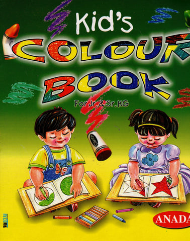 Kid's Colour Book
