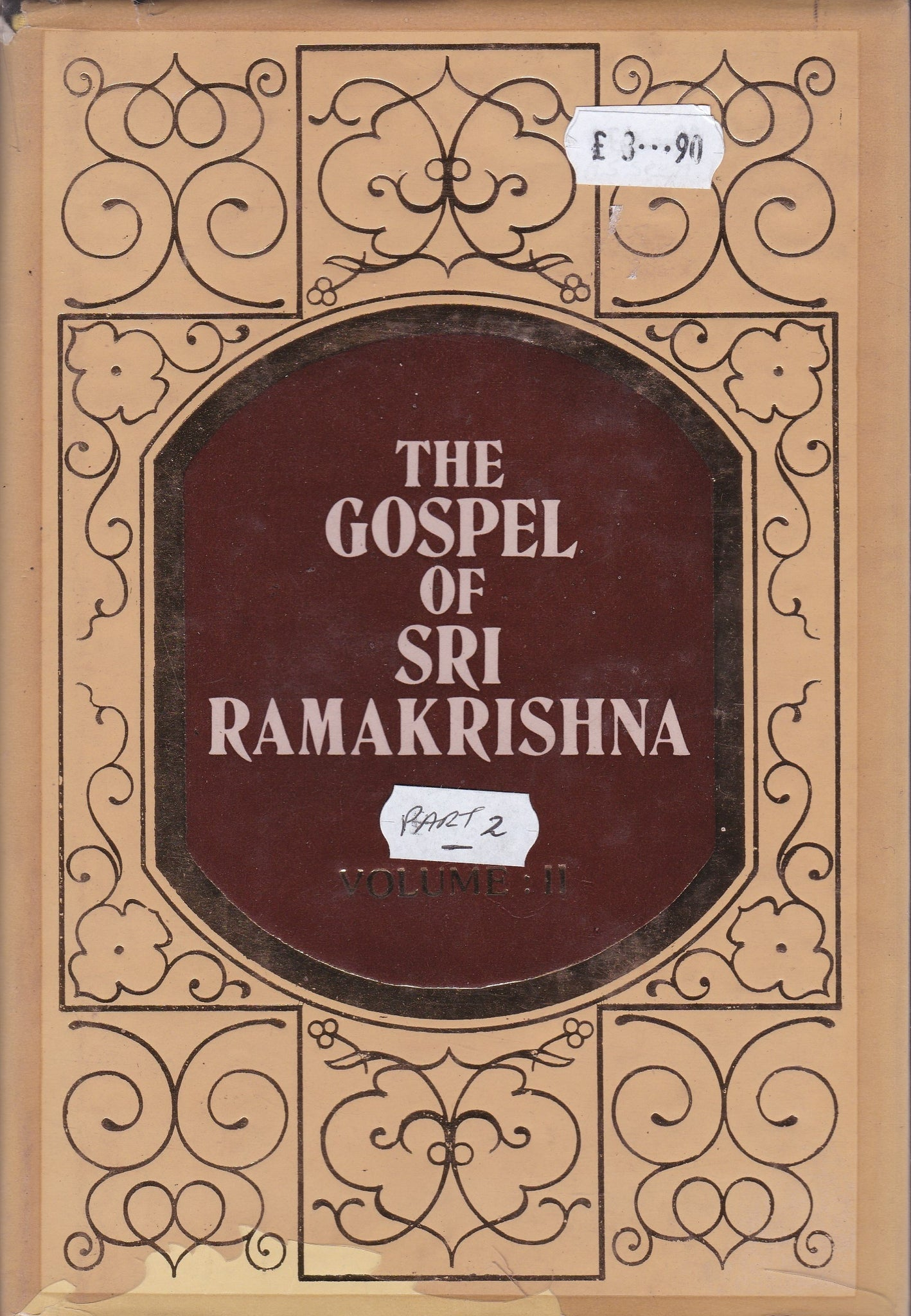 The Gospel of Sri Ramkrishna - Part 2 only