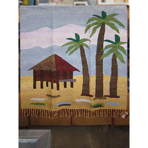 Beach Cottage - Narda's Handwoven Arts and Crafts