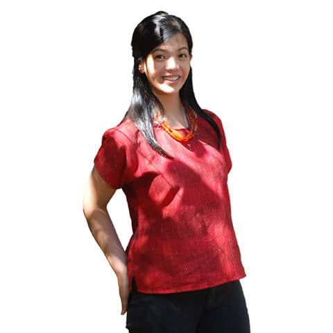 Blouse (LBS) - Narda's Handwoven Arts and Crafts