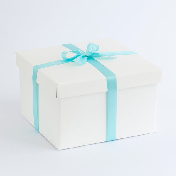 Gift box for our Merino Nappy Cakes. Lambino. Made in New Zealand