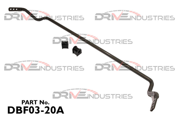 DBF03-20A - 20mm Front Sway Bar - Adjustable - Toyota MR2  SW20 (1990 - 1999)