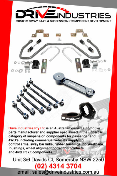 DBF105-33A Heavy Duty Sway Bar 33mm - Adjustable - Toyota Hilux GGN125R, GUN126R, GUN136R 4WD  (10/2015 - on)