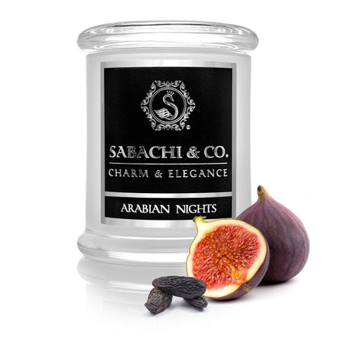 Sabachi & Co Arabian Nights Handmade Soy Candle