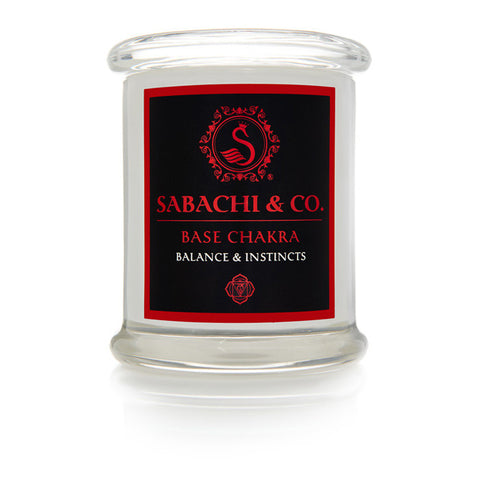 Sabachi & Co Base Chakra Collection Handmade Soy Candle