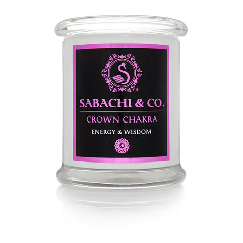 Sabachi & Co Crown Chakra Collection Handmade Soy Candle